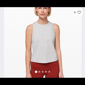 Gray Lululemon minimal tank top!
